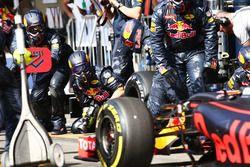Пит-стоп команды Red Bull Racing