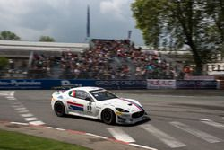 Luca Anselmi, Michael Blanchemain, Villorba Corse, Maserati GranTurismo MC GT4
