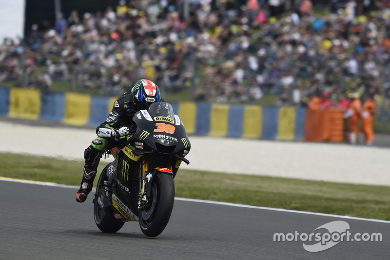 Bradley Smith – Sturz: