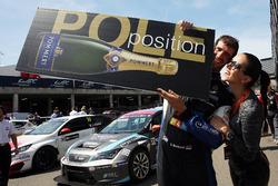Pole-Position for Dusan Borkovic, B3 Racing Team Hungary, Seat León TCR