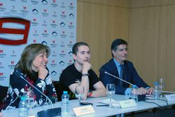 Jorge Lorenzo, Yamaha Factory Racing during the press conference