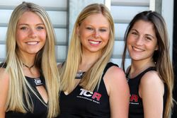 TCR grid girls