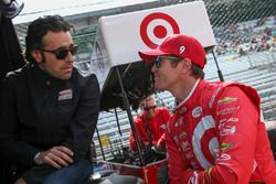 Dario Franchitti, und Scott Dixon, Chip Ganassi Racing Chevrolet