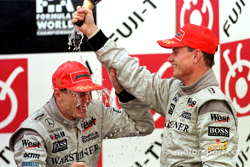#2 - Mika Häkkinen und David Coulthard: 98