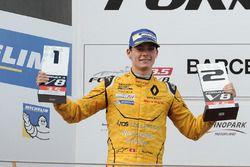 Podyum: 2. Louis Deletraz, Fortec Motorsports