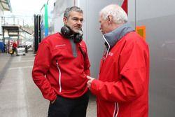 Dieter Gass, Head of DTM at Audi Sport y Ulrich Baretzky, Audi Sport