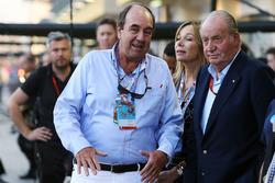 L'ancien Roi espagol Juan Carlos