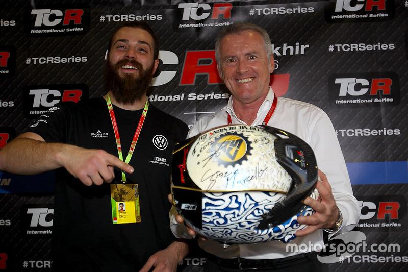 Stefano Comini, Leopard Racing, Volkswagen Golf GTI TCR and Marcello Lotti