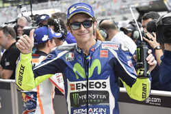 Qualifications : le troisième Valentino Rossi, Yamaha Factory Racing