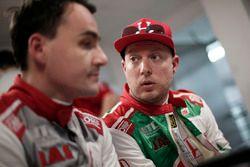Norbert Michelisz, Honda Racing Team JAS, Honda Civic WTCC and Rob Huff, Honda Racing Team JAS, Honda Civic WTCC