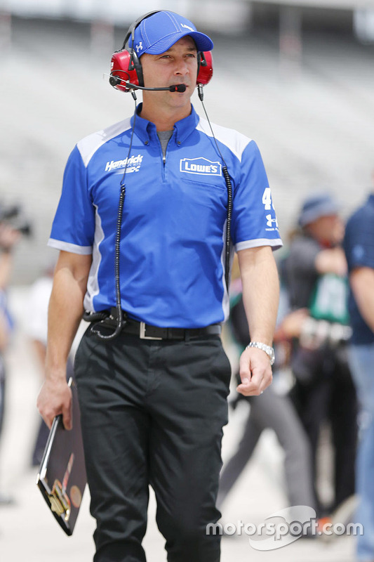 Chad Knaus, crew chief for Jimmie Johnson