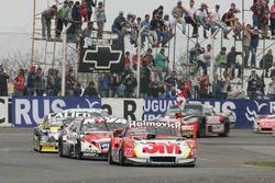 Mariano Werner, Werner Competicion Ford, Matias Rossi, Donto Racing Chevrolet, Emanuel Moriatis, Mar