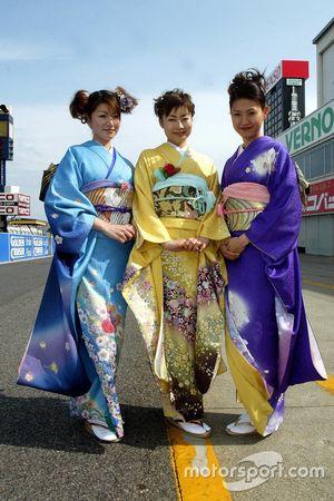 Hermosas chicas japonesas