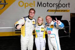 Jordi Oriola Villa, DG Sport Competition; Jasmin Preisig, Lubner Motorsport; Pierre-Yves Corthals, D