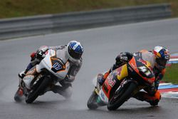 Brad Binder, Red Bull KTM Ajo, John McPhee, Peugeot MC Saxoprint