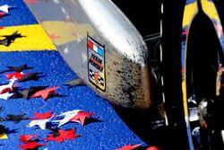 Team Penske sticker on the car of Will Power, Team Penske Chevrolet