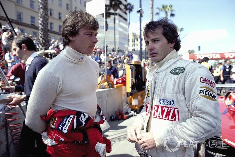 1982 - Didier Pironi and Gilles Villeneuve