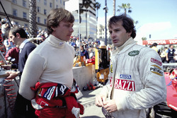 Didier Pironi et Gilles Villeneuve, tous deux pilotes Ferrari