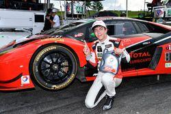 GTD polesitters #48 Paul Miller Racing Lamborghini Huracan GT3: Madison Snow, Bryan Sellers