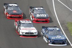 Бреннан Пул, Chip Ganassi Racing Chevrolet и Джой Логано, Team Penske Ford