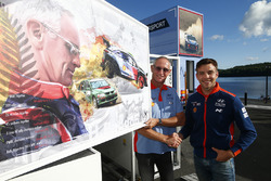 John Kennard honored by Hyundai and Hayden Paddon