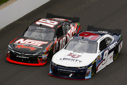 William Byron, JR Motorsports Chevrolet, Kyle Busch, Joe Gibbs Racing Toyota