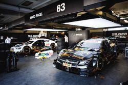 La voiture de Mattias Ekström, Audi Sport Team Abt Sportsline, Audi A5 DTM