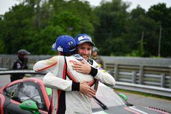 Race winners Patrick Pilet, Dirk Werner, Porsche Team