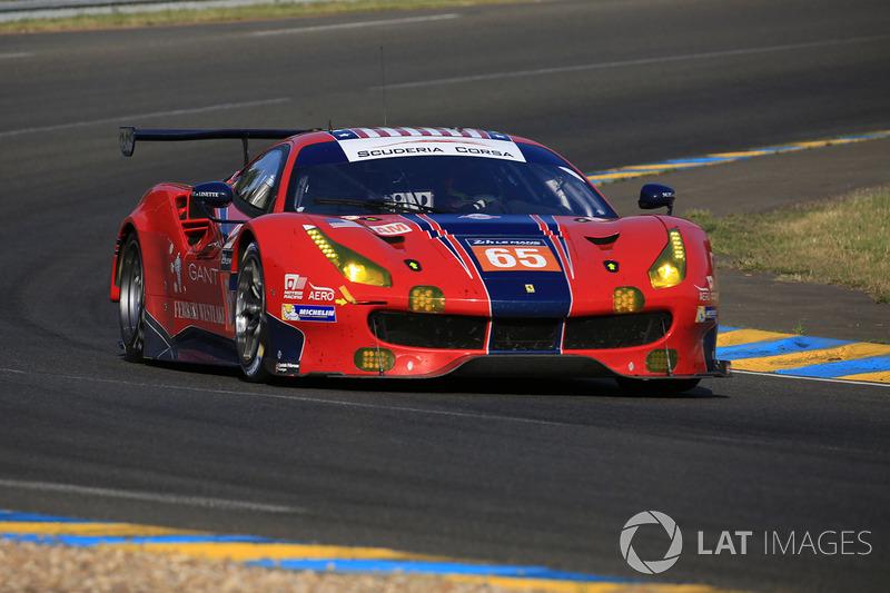 16. GTE-Am: #65 Scuderia Corsa, Ferrari 488 GTE