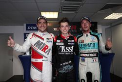 Race winner Attila Tassi, M1RA, Honda Civic TCR, second place Norbert Michelisz, M1RA, Honda Civic T