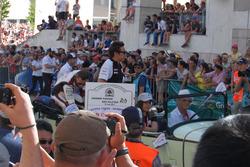 Olha a fera aí! Pole em Le Mans, Kobayashi foi bastante aplaudido ao lado de seus colegas da Toyota