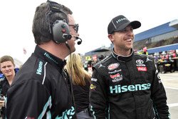 Denny Hamlin, Joe Gibbs Racing Toyota ve Chris Gabehardt
