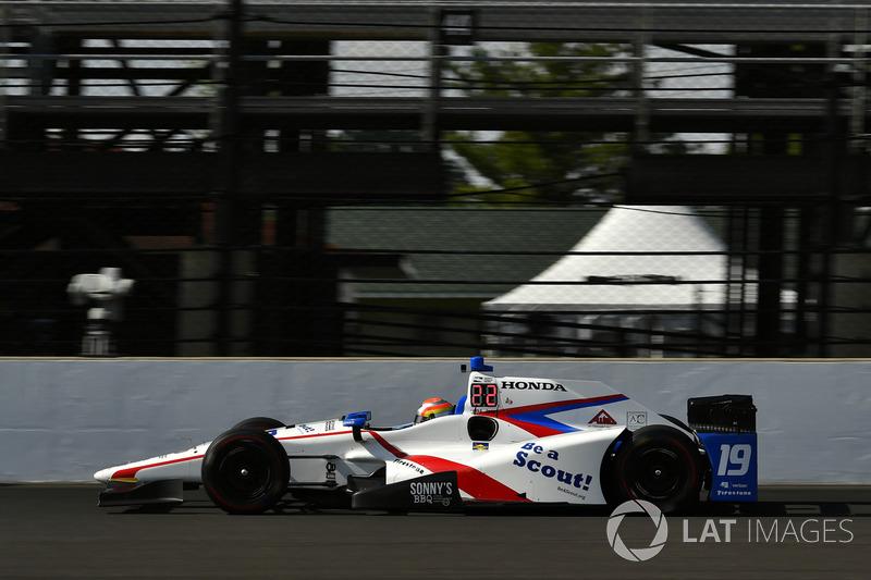11. Ed Jones, Dale Coyne Racing, Honda