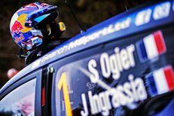 Le casque de Sébastien Ogier, M-Sport