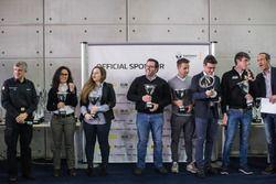 La premiazione Renault dei campioni 2016