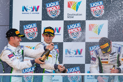 Podium: #8 Bentley Team M-Sport, Bentley Continential GT3: Steven Kane, Guy Smith, Oliver Jarvis