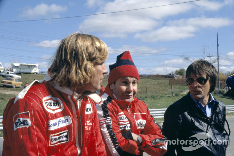 James Hunt, Teddy Mayer és Bernie Ecclestone