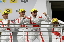 Podium: #29 Audi Sport Team Land-Motorsport, Audi R8 LMS: Connor De Phillippi