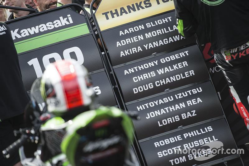 100 victorias, Donington Park, 2017