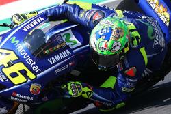 Valentino Rossi, Yamaha Factory Racing, avec son casque spécial pour le Mugello