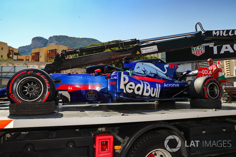НФ: Даниил Квят, Toro Rosso