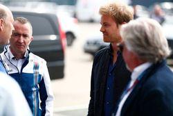 Paddy Lowe, Williams Formula 1 con Nico Rosberg y Keke Rosberg