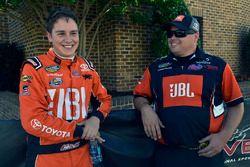 Christopher Bell, Kyle Busch Motorsports, Toyota; Rudy Fugle