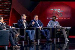 Jean Todt, President, FIA, Alejandro Agag, Formula E CEO, Zak Brown, Chairman, Motorsport Network an