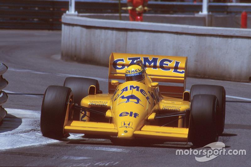 В 1987 году Айртон Сенна одержал первую победу в Монако