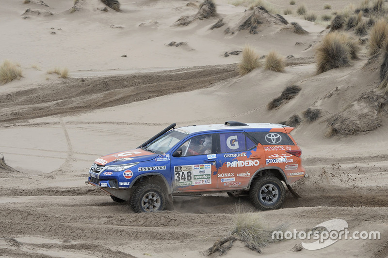 #348 Toyota: Fernando Malatesta, Fernando Del Busto