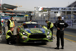 #16 SPS automotive performance Mercedes AMG GT3: Valentin Pierburg, Tim Müller, Lance-David Arnold,