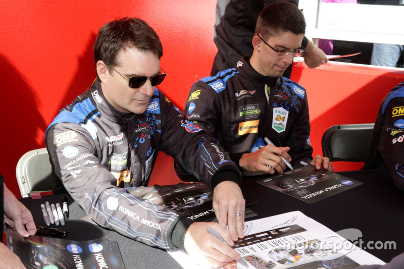 Ricky Taylor, Jeff Gordon, Wayne Taylor Racing