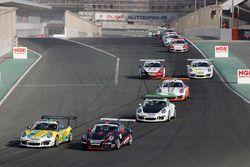 مجريات السباق الثاني
