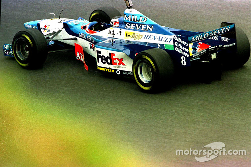#8: Gerhard Berger, Benetton, B197